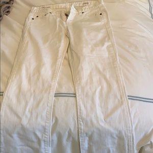never worn white boot cut jean
